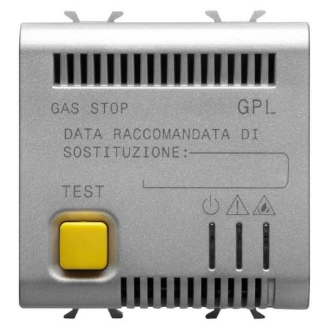 LPG detector with accoustic and visual alarm, 12V ac/dc