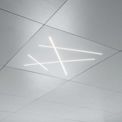 Плафон 600mm LED за вграждане в окачен таван