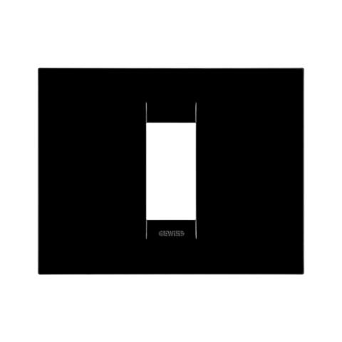 GEO plate 1 gang - Toner Black