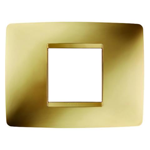 Рамка ONE 2 модула Gold