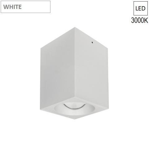 Ceiling Lamp/Spot  80x80 H120 LED 7.5W 3000K white