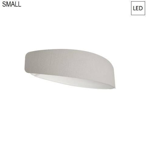 Wall lamp 38cm LED 10W IP44 grey