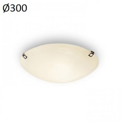 Ceiling light 1xE27 max 46W amber