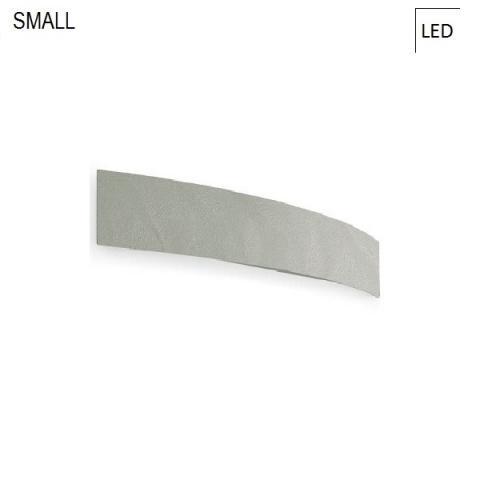 Аплик 40cm LED 15W IP40 бетоново сив