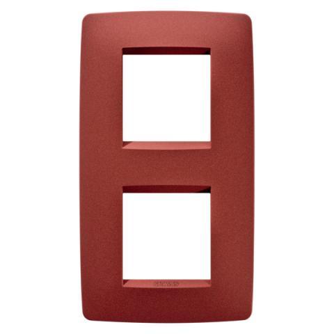 Рамка ONE International 2+2 вертикална - Ruby