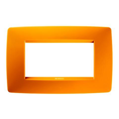 Рамка ONE 4 модула Opal Orange