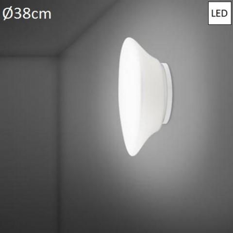 Плафон Ø38cm LED бял