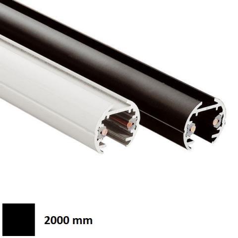 Low-voltage track ELV 2m black