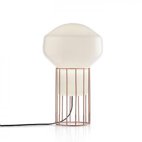 Настолна лампа H37cm Ø22.8cm мед