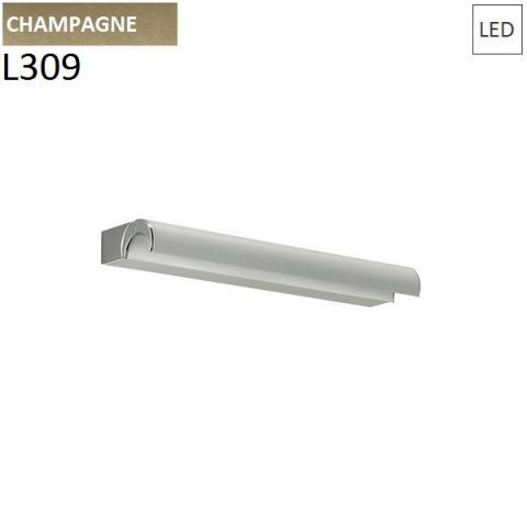 Аплик L309mm 9W LED шампанско