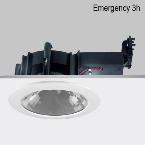 Луна Ra 20 DIXIT LED с автономно захранване 3h - бяла