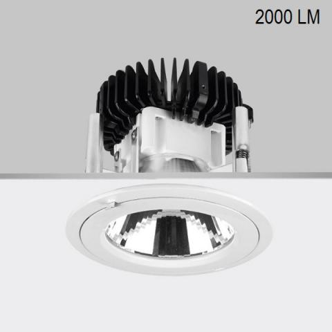 Луна Ra 18 DIXIT LED Fortimo DLM 22W 3000K бяла