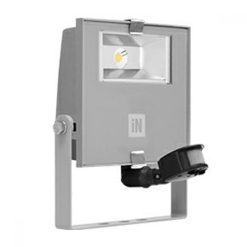 Прожектор GUELL ZERO DETEK S/M LED 15W сив, сензор за движение