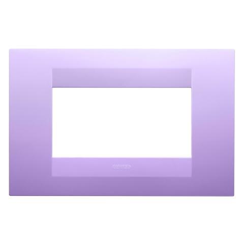 GEO plate 4 gang - Amethyst purple