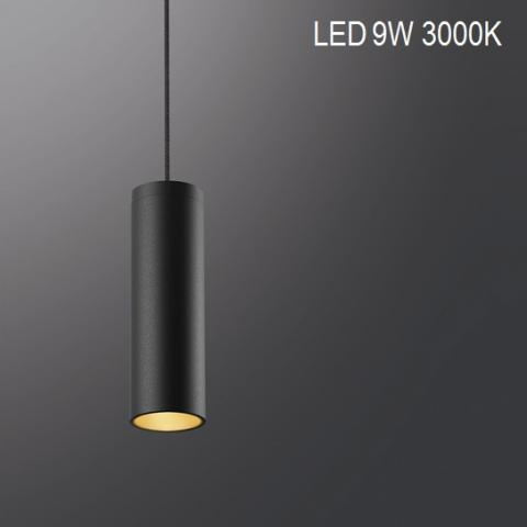 Suspension MINIPERFETTO-S LED 9W 3000K black