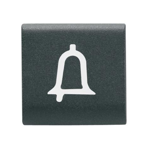 "Replaceable button key 22x22mm ""BELL"""