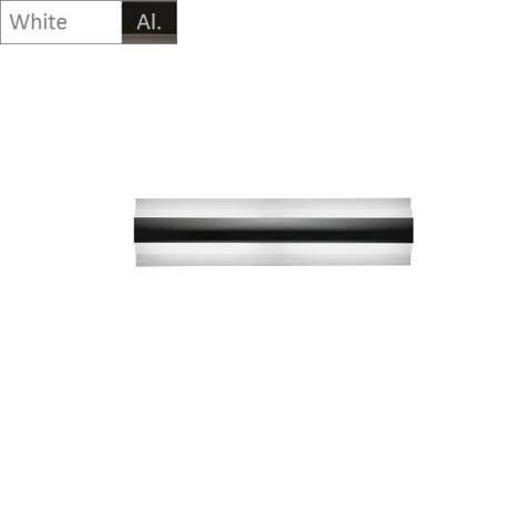 Аплик LED бяло - алуминий