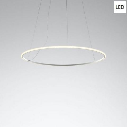 Пендел Ø108.7cm LED бял