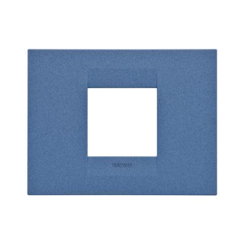GEO plate 2 gang - Sea Blue