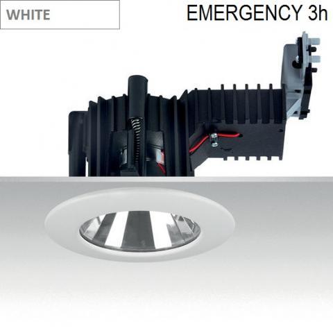 Downlight Ra 14 DIXIT LED Emergency 3h -  white