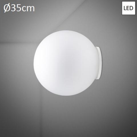 Wall/ceiling lamp Ø35cm LED White