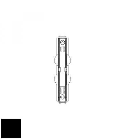 Mechanical joint for MM track - black