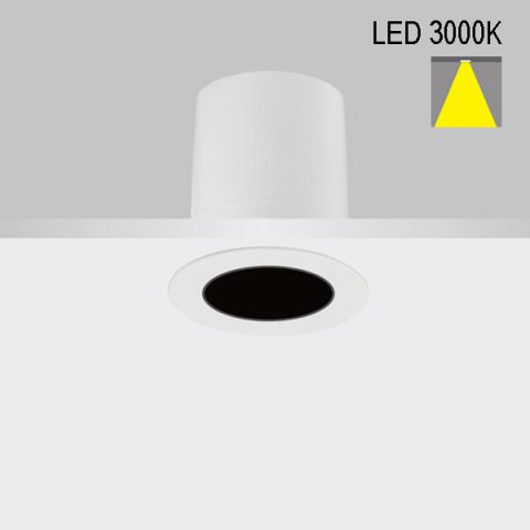 Downlight Perfetto-in 50 LED 3000K 34°