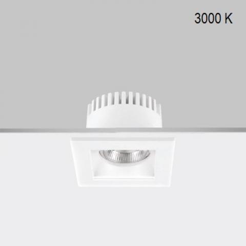 Fixed downlight RA 8 Q DIXIT LED 5.5W/8.5W 3000K IP44