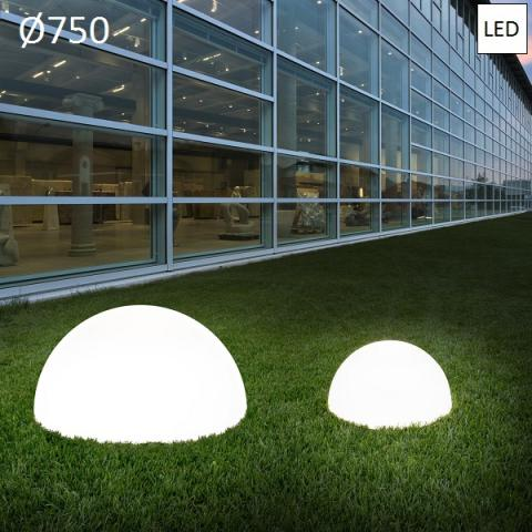 Garden floor lamp Ø750 LED IP65