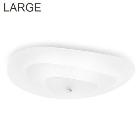 Ceiling lamp 730X589 3xE27 IP20 white