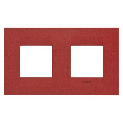 Рамка GEO International 2+2 хоризонтална - Ruby