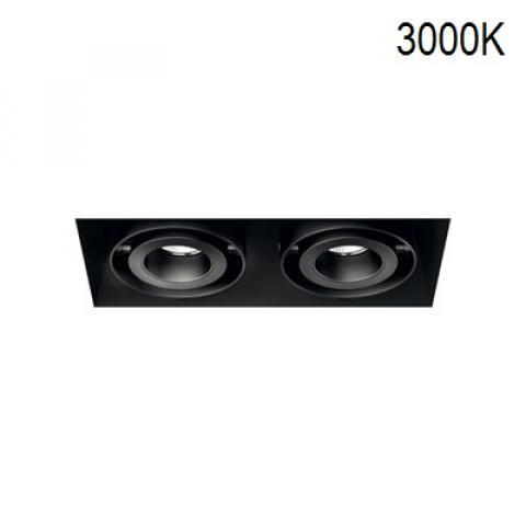 Multi-directional downlight KARDAN-TL 2X12/18W LED 3000K