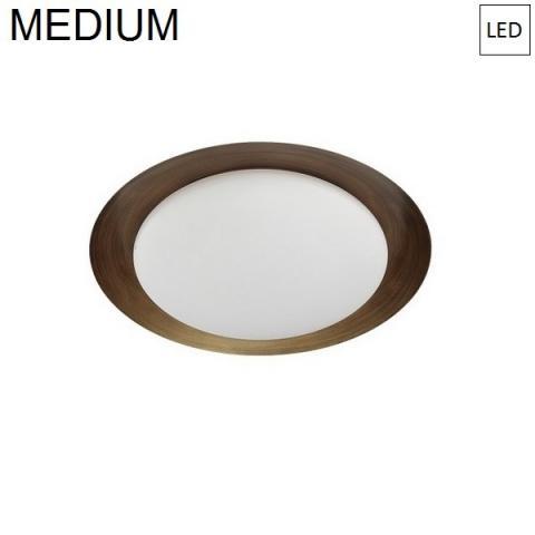 Плафон Ø386mm LED 17W 3000K бронз