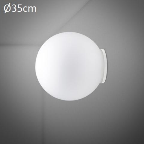 Wall/ceiling lamp Ø35cm E27 White