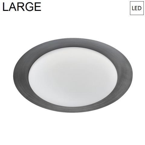 Плафон Ø471mm LED 22W 3000K тъмно сив