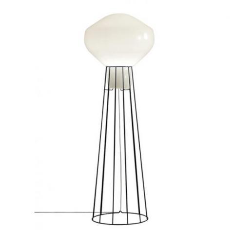 Floor Lamp H186cm Ø20cm Black chrome