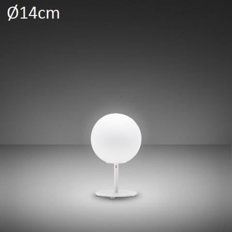 Настолна лампа Ø14cm G9 бяла
