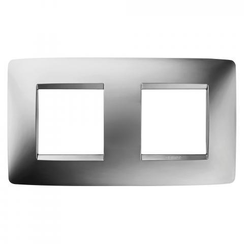 Рамка ONE International 2+2 хоризонтална - Chrome