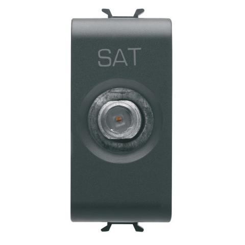 TV-SAT socket feedthrough 14dB