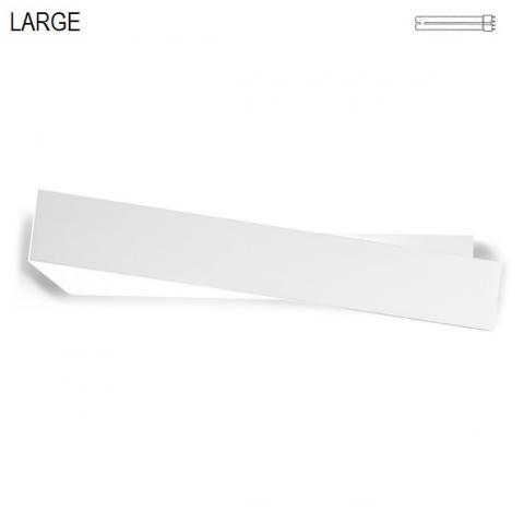 Аплик 58cm бял