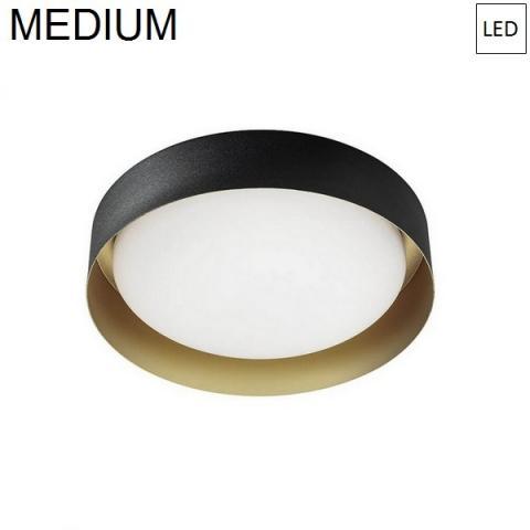 Ceiling Lamp Ø332mm LED 17W 3000K Black/Gold