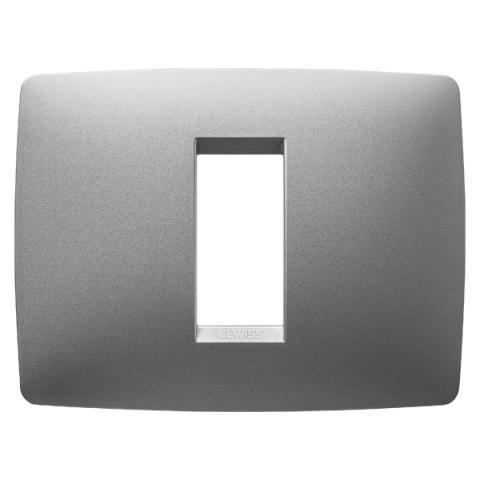 1-gang plate Titanium