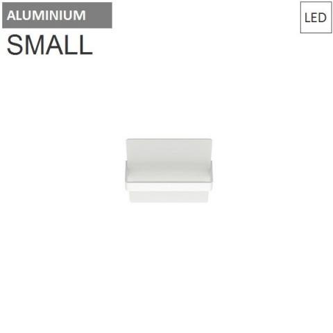 Wall/ceiling lamp 250X200mm 11W 3000K LED Aluminium