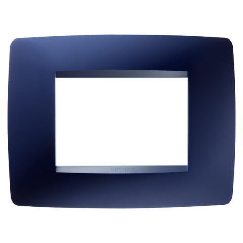 Рамка ONE 3 модула Topaz Blue