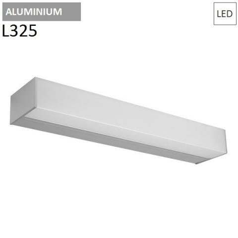 Wall/ceiling lamp L325mm 14W 3000K LED  Aluminium