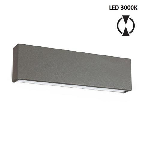 Аплик M - LED 19W 3000K - бетоново сив