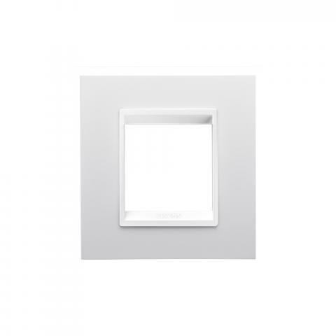 Рамка LUX International 2 модула - Monochrome Milk White