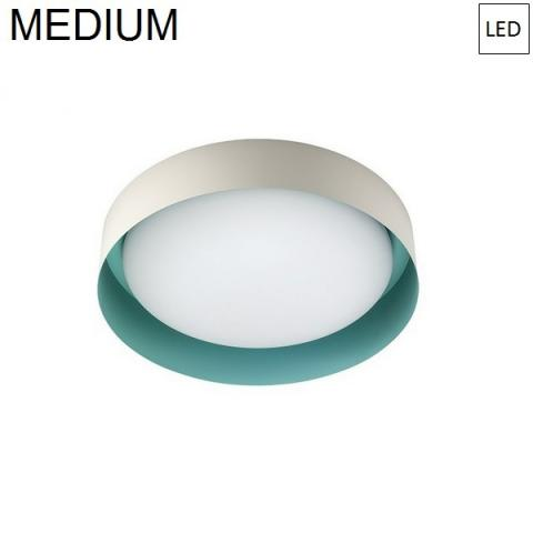 Ceiling Lamp Ø332mm LED 17W 3000K Sable/Tiffany