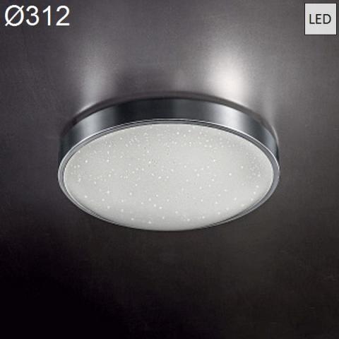 Ceiling Lamp Ø312 LED 18W 3000K chrome