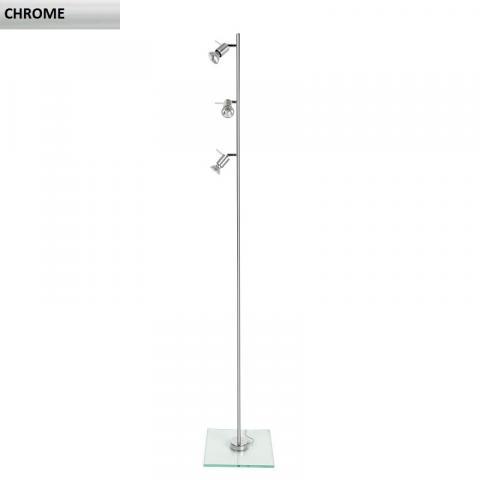 Floor lamp 3xGU10 chrome